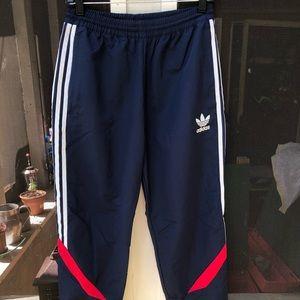 Adidas windbreaker sweatpants size S